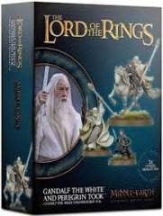 Middle Earth Strategy Battle Game: Gandalf the White & Peregrin Took