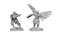D&D Unpainted Minis - Aasimar Male Fighter