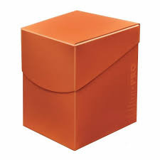 Ultra Pro Eclipse Deck Box - Pumpkin Orange