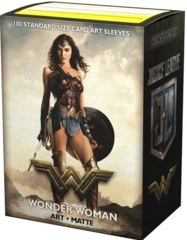 Dragon Shield Art Matte Sleeves - Justice League: Wonder Woman - 100ct