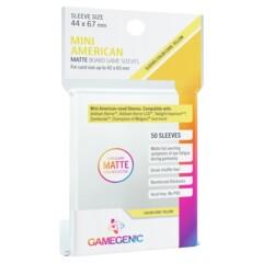 Gamegenic - Mini American Matte Board Game Sleeves - 50ct (Yellow)