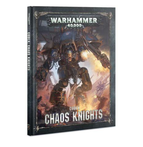 Codex: Chaos Knights (HB) (English)