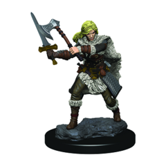 Icons of the Realms Premium Miniatures - Human Barbarian