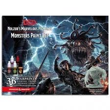 D&D Nolzurs Marvelous Pigments - Monsters Paint Set