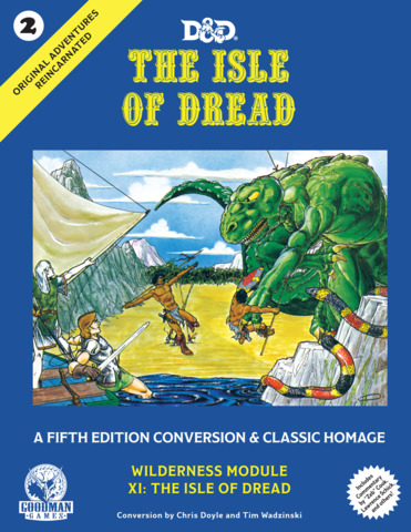 Original Adv Reincarn. #2 The Isle of Dread 5E
