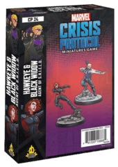 Marvel: Crisis Protocol - Hawkeye & Black Widow (Agent of S.H.I.E.L.D.) Character Pack