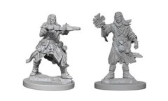 Pathfinder Battles Unpainted Minis - Male Human Wizard