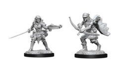 Pathfinder Battles Unpainted Minis - Female Half-Elf Ranger