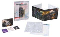 D&D Dungeon Masters Screen: Dungeon Kit