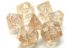 Old School RPG Dice Set: Particles - Confetti