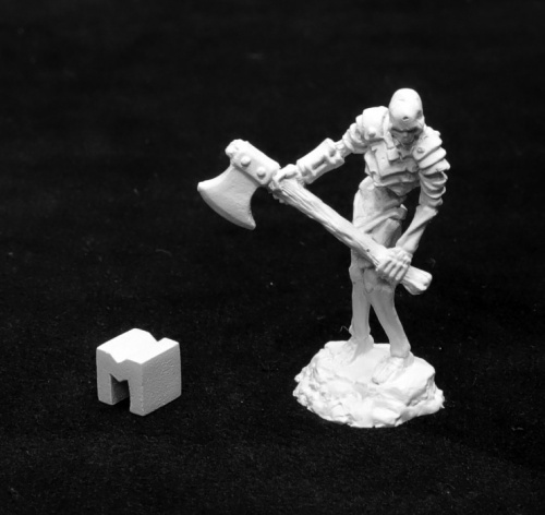 Bog Skeleton Two Handed Axe