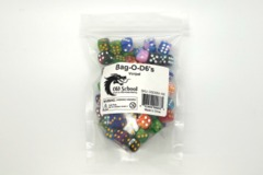 Old School Dice: Bag-O-D6's - 100 Vorpal
