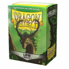 Dragon Shield Matte Sleeves - Lime 100ct