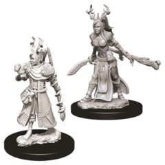 Nolzurs Marvelous Unpainted Miniatures - Human Druid (Female)