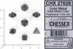 CHX 27028 - Solid Metal Dark Metal Color