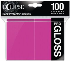 Ultra Pro Eclipse Gloss Sleeves - Hot Pink
