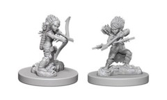 Pathfinder Battles Unpainted Minis - Female Gnome Rogue