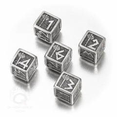 Dwarven Metal Dice Set (D6)