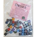 Chessex D6 - Variety of Colors
