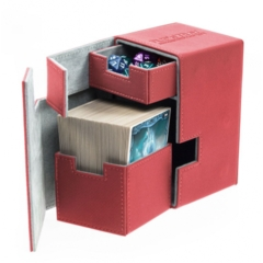 Ultimate Guard - Flip'N'Tray Deck Case 100+ Red