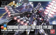 HG 1/144 - Crossbone Gundam X1 Full Cloth Type.GBFT