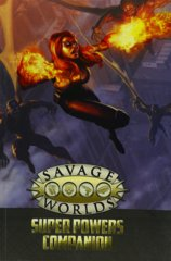 Savage Worlds: Super Powers Companion