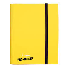9-Pocket Yellow PRO-Binder