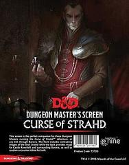 D&D 5th Edition RPG - Curse of Strahd DM Screen