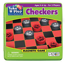 Game Tin - Checkers