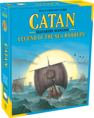 Catan: Seafarers Senario - Legend Of The Sea Robbers