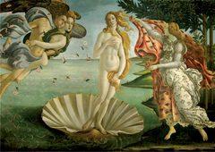 1000 - Birth of Venus (Botticelli)