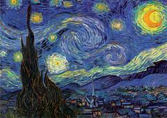 1000 - Starry Night (Van Gogh)