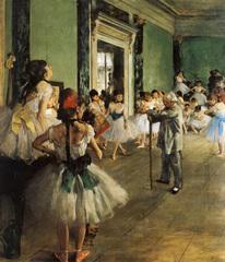1000 - The Ballet Class (Degas)