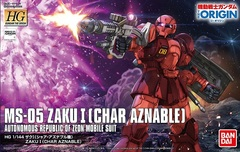 HG 1/144 - MS-05 Zaku I (Char Aznable)