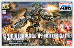 HG 1/144 - Gundam Local Type (North American Type)