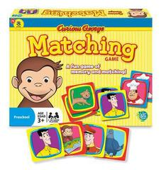 Matching Game - Curious George