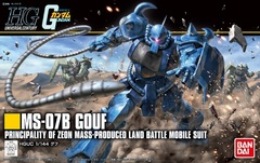 HG 1/144 - MS-07B Gouf