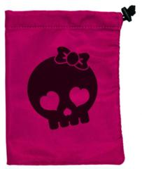 Ultra Pro - Skull Girl Treasure Nest Dice Bag