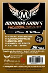 65mm x 100mm Mayday Sleeves (7-Wonders Sized)
