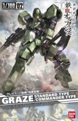 MG 1/100 - Graze Standard/Commander Type