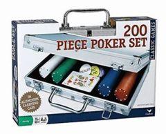 Aluminum Poker Set (200 pcs)