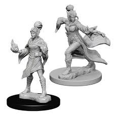 Pathfinder Battles Unpainted Minis - Elf Sorcerer (Female)