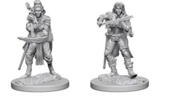 Pathfinder Battles Unpainted Minis - Elf Bard (Female)