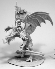 Reaper Bones Miniature: Kyra & Lavarath (Dragon and Rider)