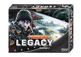 Pandemic Legacy Season 2 - Black (Z-Man Games)