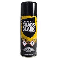 Chaos Black Spray ( North American)
