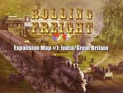 Rolling Freight Expansion Map #1: India/ Great Britain