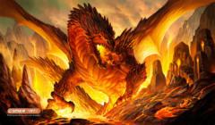 Playmat- Fire Bringer Dragon