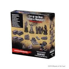 Icons of the Realm - Waterdeep - Dragon Heist City of the Dead Statues & Monuments Incentive
