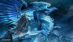 Playmat- Frost Dragon